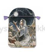 Stofpose i satin - Pagan Moon