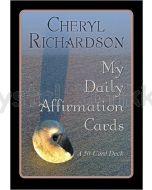 MY DAILY AFFIRMATION cards - Cheryl Richardson