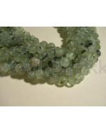 Perle - Prehnit grøn - 6mm