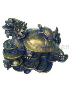 Feng Shui Drageskildpadde stor