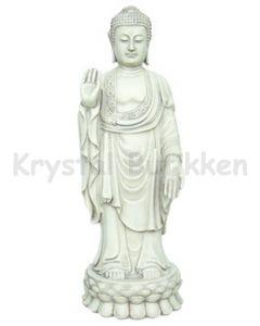 Buddha 24,5 cm - Stående sten look