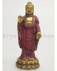 Buddha-Stående-hvid