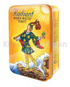Radiant Rider Waite Tarotkort i metalæske