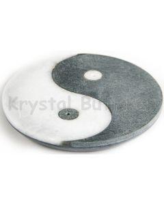 Røgelsesholder med yin og yang