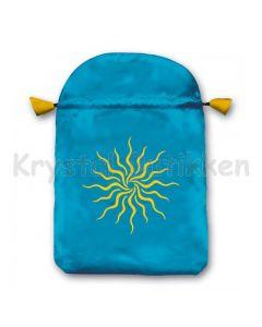 Stofpose i satin - Sollys
