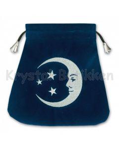 Stofpose i fløjl - Smiling Moon