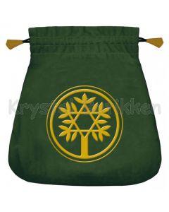 Stofpose i fløjl - Keltisk Træ