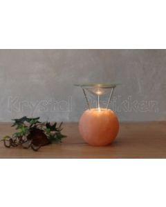 Duftlampe i Himalaya salt - rund