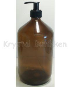 Brun Glas flaske 500 ml.