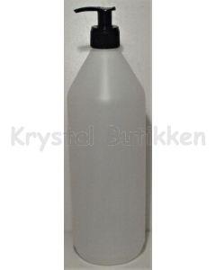 brun-plastflaske-med pumpe