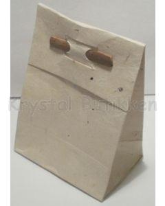 Gavepose hvid - lille 7x10 cm