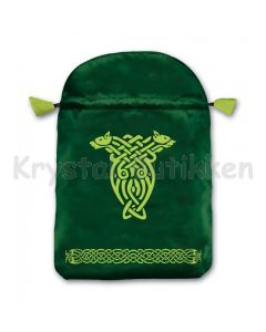 Stofpose i satin - Keltisk
