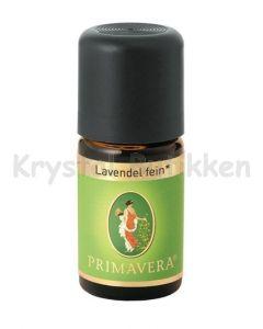 Lavendel -Økologisk - Primavera - 5 ml. - fine