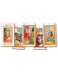 White Cat tarot mini