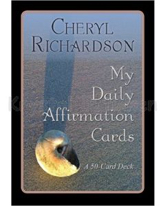 MY DAILY AFFIRMATION cards - Cheryl Richardson