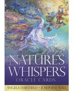 Natures Whispers kort - med dansk bog