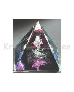 Havfrue og  delfin Pyramide