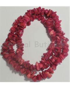 zoizit-rubin-halskæde