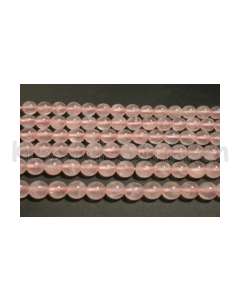 Perle Rosakvarts 6mm