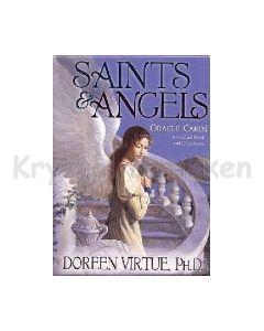 SAINTS AND ANGELS med dansk bog