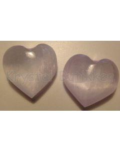 Hjerte Selenit 3x4