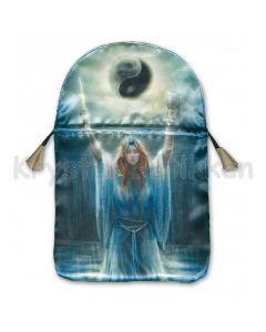 Stofpose i satin - Sacred Priestess